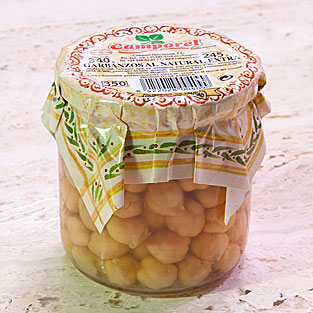 Camporel - Garbanzos al natural extra, 340 gr.